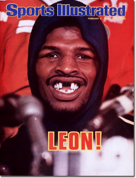 Leon Spinks sulla copertina di Sports Illustrated del 27/02/1978
