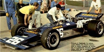 George Follmer su Lotus 70