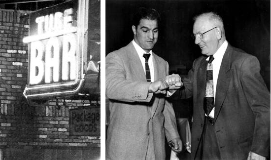 "Rocky Marciano e Louis ""Red"" Deutsch"