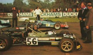 David Purley in Formula 2 a Oulton Park nel 1972